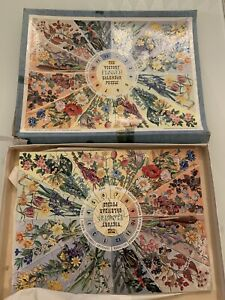 Vintage The Victory flower calendar puzzle by G J HAYTER AND CO