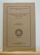 Environment & Native Subsistence Economies in the Great Plains 1941 Indians