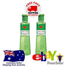 2x Cap Lang Cajuput Oil Minyak Kayu Putih 120ml Relief Stomachache Nausea Itch
