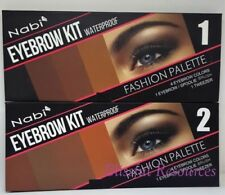 Nabi Eyebrow Kit Waterproof Fashion Palette #1#2(4 colors ea) 1 brush &1tweezer