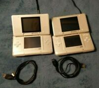 Nintendo DS Launch Edition White Handheld System - Stylus and charger (USB)