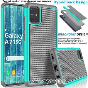 Armour Case for Samsung Galaxy A20E A51 A71 A10 A50 A70 Hard Hybrid Rugged Soft