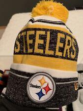 Pittsburgh Steelers NFL New Era Snow Dayz Knit Hat