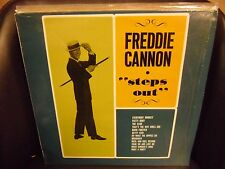 FREDDIE CANNON Steps Out LP EX 1982 OutLine Records German Reissue IN SHRINK