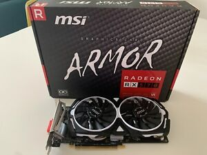 AMD Radeon RX570 4GB MSI Armor Graphics Card, Boxed