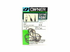 Owner 5111 SSW All Purpose Cutting Point Bait Hook Pocket Pack Size 4/0 (2243)