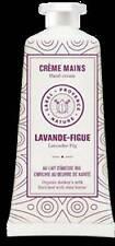 Crème pour les mains lavande figue 50ml au lait d'ânesse bio