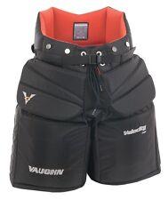 "New Vaughn 7460 ice hockey goalie goal pants pant senior sr size 38"" large black"