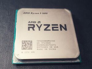 AMD RYZEN 5 R5 1600 6-Core 3.2 GHz with FREE AMD Cooler