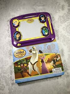 Disney's Tangled The Series Rapunzel Magna Doodle Book Erasable Magnetic Pad Pen