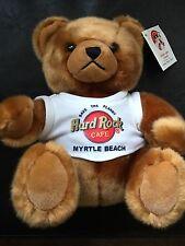 Hard Rock Cafe 2004 Limited Edition Myrtle Beach Herrington Teddy Bear