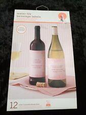 Beverage Labels- Customizable, Printable, 12