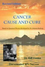 CANCER - CAUSE AND CURE - NEW PAPERBACK BOOK