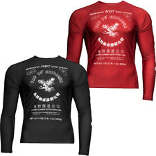 Домовой перчик с длинным рукавом джиу защитные футболки Rashguard