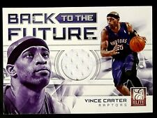 2012-13 Elite Back to the Future Materials #4 Vince Carter