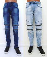 Men/'s EPICO Off Beige Cream straight classic fit jeans EPC2855 32 33 34 x 30 32