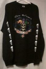 Fruit Of The Loom Mardi Gras Graphic T Shirt Black Adult Size XL Tee
