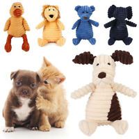 For Dog Toy Play Funny Pet Puppy Chew Squeaker Squeaky Cute Plush Sound Toys sji