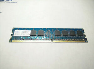 NANYA Memory 512MB (1X512MB) PC2-4200U-444-12-A1 NON-ECC DDR2 SDRAM 240 pins