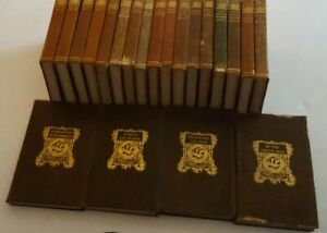 The Biographical Edition of the Works Robert Louis Stevenson 21 Volumes Leather