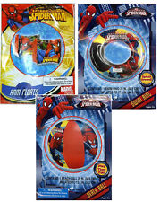 Marvel Spider-Man Kids Boys Swimming Ring Tube + Arm Floats + Pool Beach Ball 3+