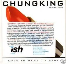 (H553) Chung King, Love is Here to Stay - DJ CD