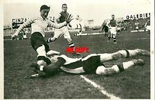 Photo presse Football 1935 János Eugène Paul Acht Red Star Racing Henri Ozenne