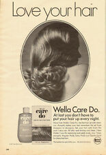 1971 Vintage ad for Wella Care Do~Hair Set (081313)