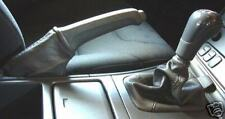 GREY LEATHER FITS VOLVO S80 1998 + HANDBRAKE GAITER REAL LEATHER