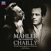 Mahler: The Symphonies 12 CD Set Decca Riccardo Chailly RSO Berlin NEW FREE SHIP