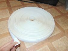 "Vinyl Trim Insert Molding RV Travel Trailer Camper 5th Wheel 1""x100' White"