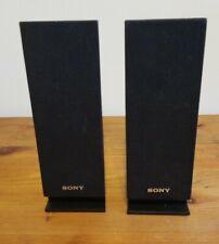 New listing (2) Sony Ss-Tsb101 Piano Black Surround Satellite Speakers Free Shipping