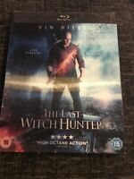 The Last Witch Hunter [Blu-ray]. **FREE P&P**. With slipcase. **NEW & SEALED**
