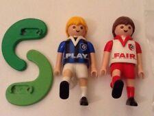 Playmobil juego interactivo de jugadores de fútbol & Fair-Envío Gratuito
