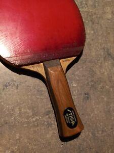 """STIGA Allround Classic Ulf """"tickan"""" Carlsson raquette racket 90's"""