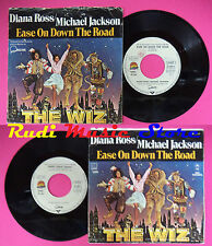 LP 45 7'' DIANA ROSS MICHAEL JACKSON Ease on down the road Poppy no cd mc dvd
