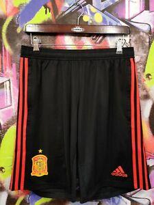 Spain National Football Team Soccer Training Shorts Adidas Sample 2018 Mens M