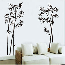 New DIY Bamboo Tree Wall Stickers Removable Vinyl Decal Mural Home Decoration