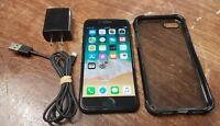 SPRINT Apple iPhone 7 32GB Black A1660 CDMA/GSM CLEAN ESN/IMEI WORKS GOOD READY