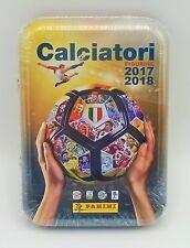 TIN BOX KIT AGGIORNAMENTI PER ALBUM FIGURINE PANINI CALCIATORI 2017 2018 17 18