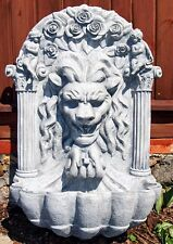 Wandbrunnen Löwenkopf Phantasie Brunnen Gartenbrunnen Standbrunnen BLACKFORM