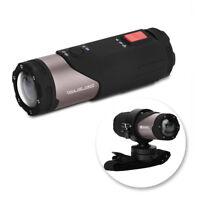 12MP HD 1080P Vélo Moto Casque Caméra Sport étanche Digital Vidéo Télécommande