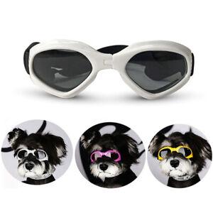Pet Dog Goggles UV Sunglasses Foldable Glasses for Small Medium Breed dogs
