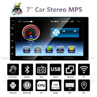 """7"""" Android 8.1 2 DIN Car MP5 Player Stereo Radio GPS Navigation WIFI Bluetooth"""