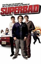 SUPERBAD REPLICA 2007 MOVIE POSTER