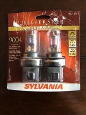 SYLVANIA 9004 SilverStar Ultra High Performance Halogen Headlight Bulb, 2 Bulbs