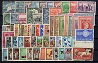 G129599/ GREECE/ 1960 & 1961 COMPLETE YEARS / MI # 723 / 784 MINT MNH - CV 120 $