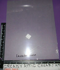 STAMPIN UP LAVENDER LACE 24 >>>SHEETS CARDSTOCK PAPER  8 1/2 X 11 RETIRED