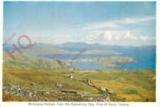 Postcard, Derrynane Harbour From The Coomahista Pass, Ring Of Kerry, Ireland