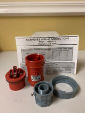 MENNEKES ME 420P7W PIN AND SLEEVE PLUG, 480 VAC, ME420P7W - NEW - FREE SHIPPING